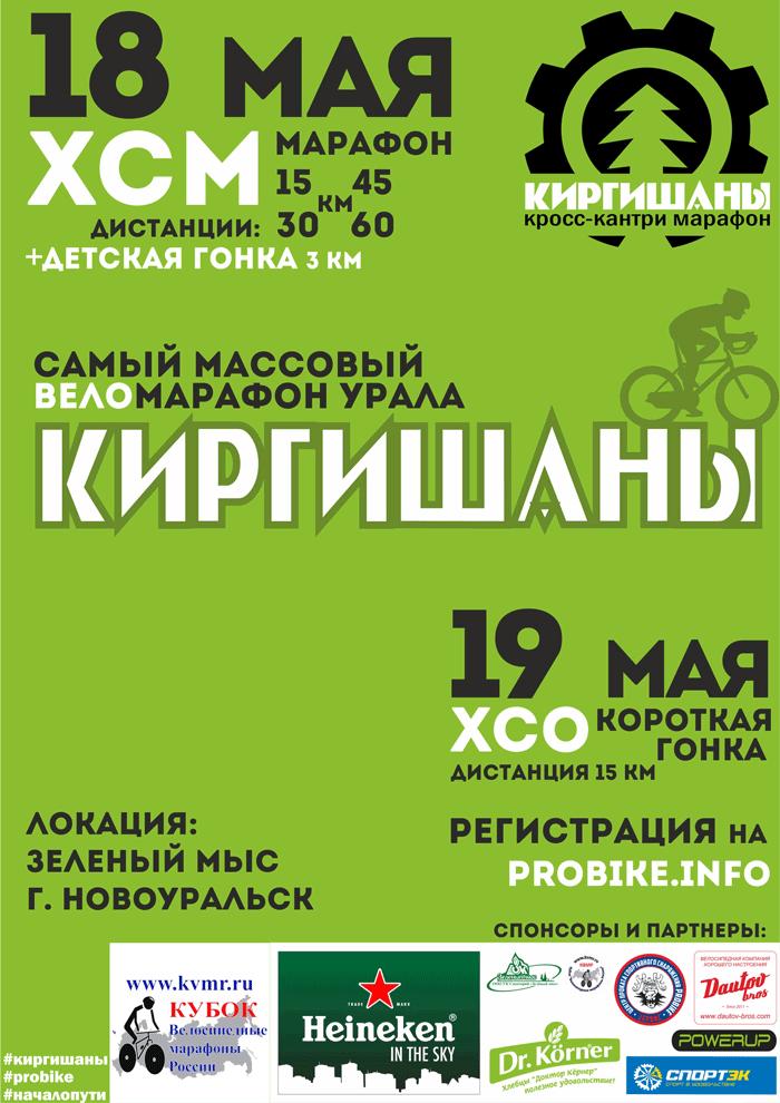 Веломарафон Киргишаны-2019